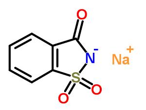 Формула сахарина
