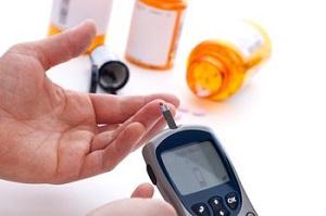 Замер сахара глюкометром
