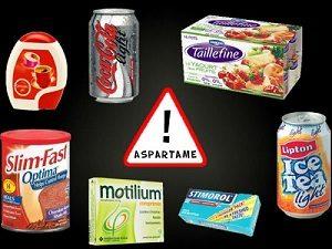 Диетические продукты с Аспартамом