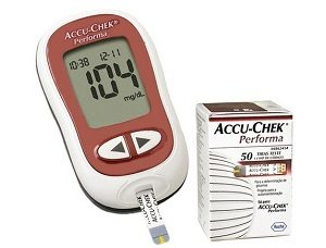 Глюкометр и тест-полоски к нему