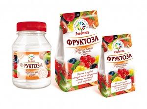 Магазинная упаковка фруктозы