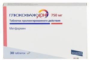 Препарат Глюкофаж