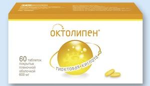 Препарат Октолипен