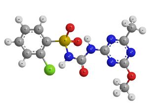 Молекула сульфонилмочевины