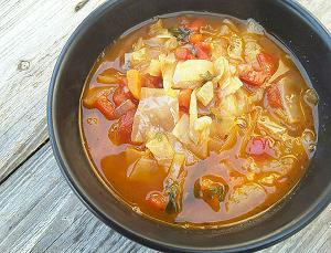 Суп из капусты