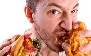 Жирная и вредная пища