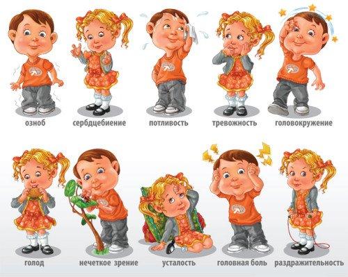 Симптомы гипогликемии у детей