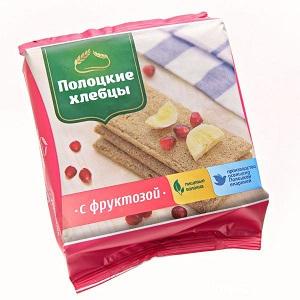 Хлебцы с фруктозой